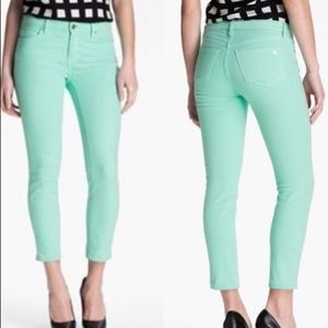 Kate Spade Broome Street Skinny Jean in Mint